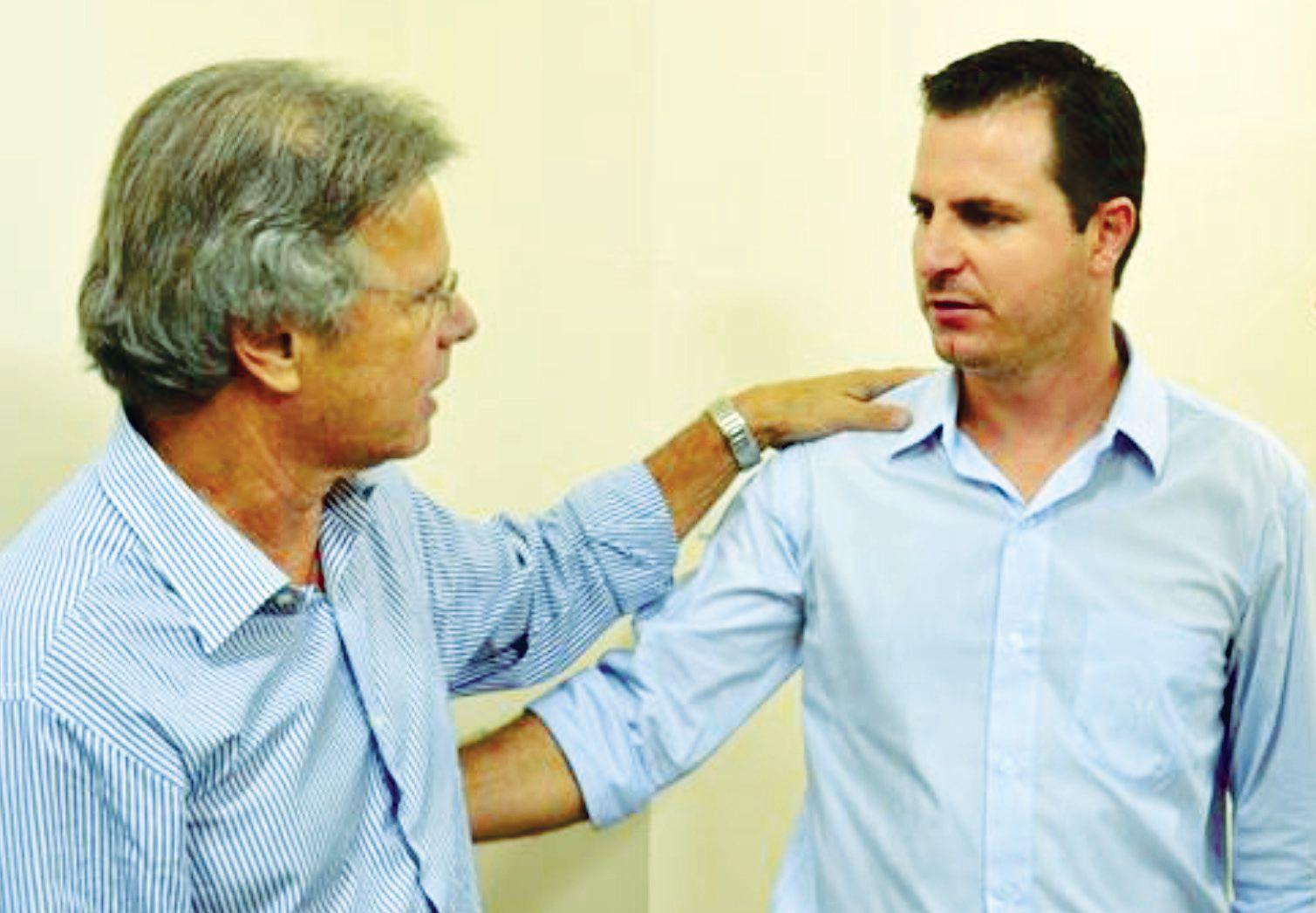 Deputado Federal Vanderlei Macris confirmando ao vereador Bruno Barnabé da Silva, ex-presidente da Câmara, a verba de R$ 250 mil.