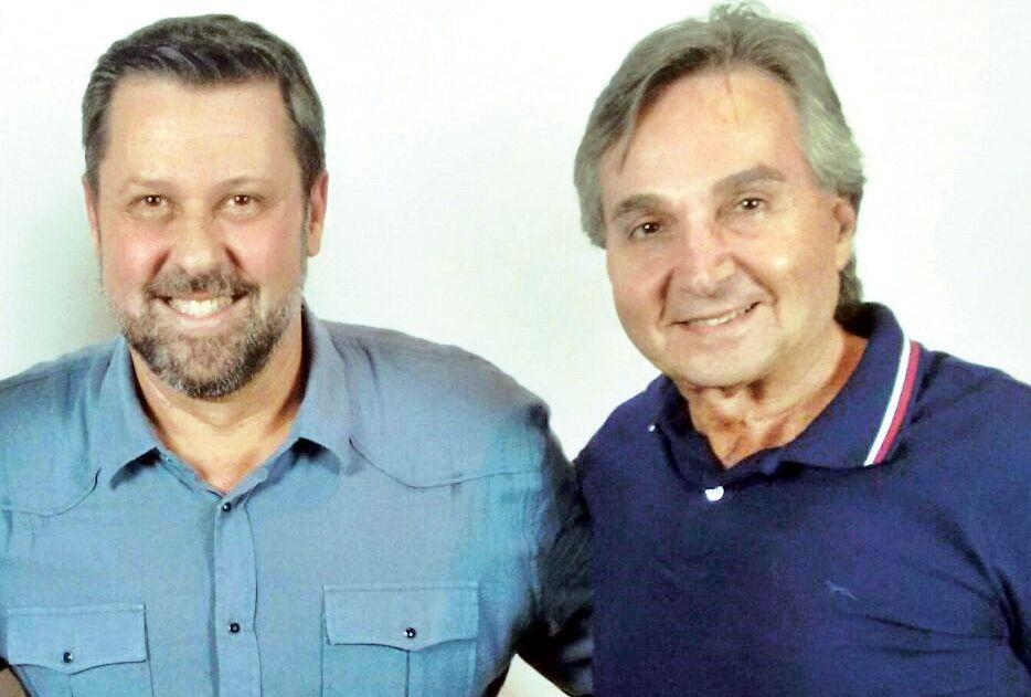 Deputado Carlos Sampaio e o vereador Flávio Carvalho