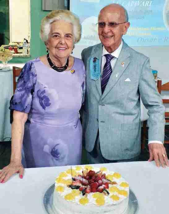 Silvia/Florival de Andrade, fundador do Lions Clube de Capivari